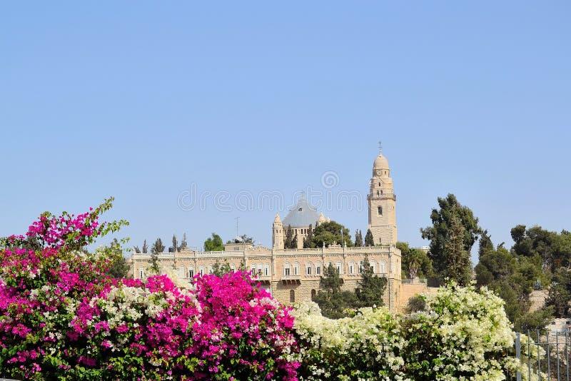 Christelijke heiligdommen in Jeruzalem royalty-vrije stock afbeeldingen