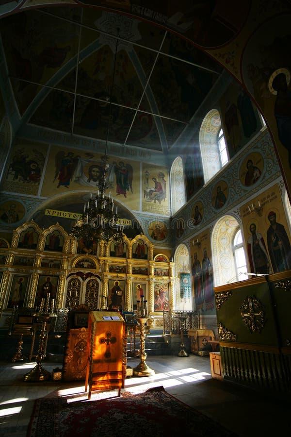 Christelijke kerk stock afbeeldingen