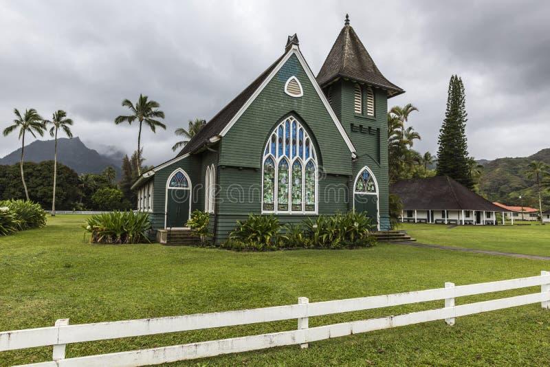 Christelijke kerk in Hawaï royalty-vrije stock fotografie
