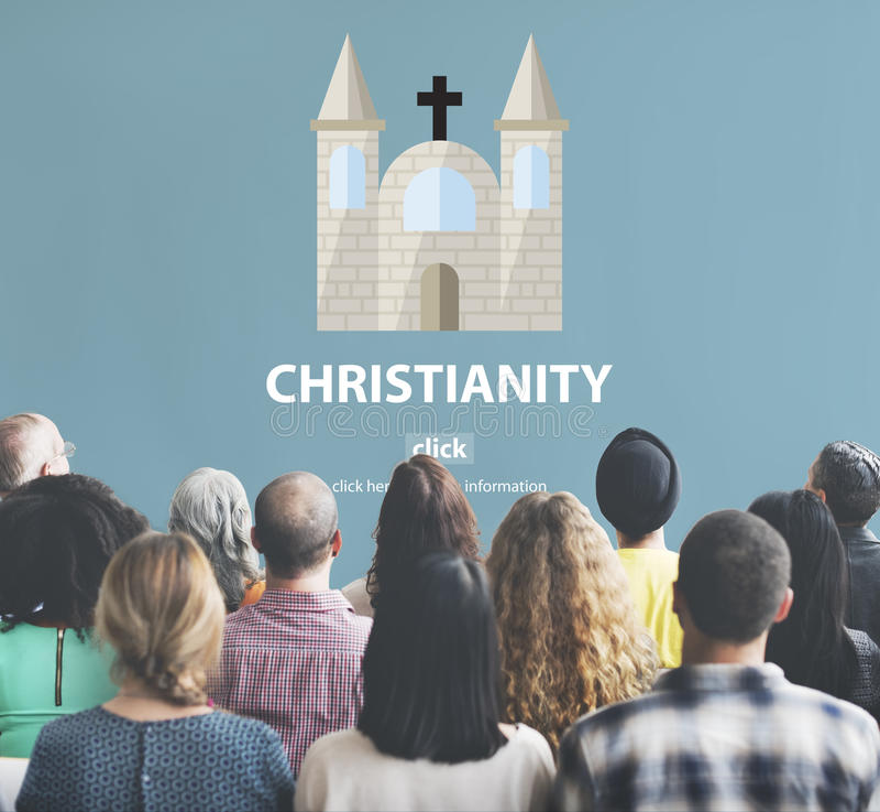Christendom Heilig Jesus Religion Spirituality Wisdom Concept royalty-vrije stock afbeeldingen