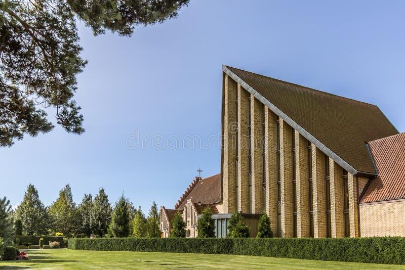 Christenenkerk in Fredericia stock fotografie