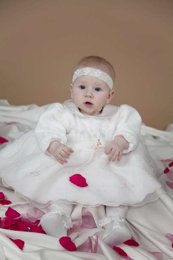 Free Christening Clothes Stock Images - 13336964