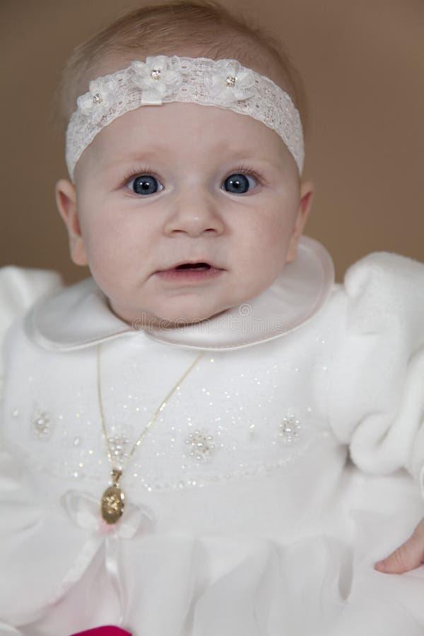 Download Christening odziewa obraz stock. Obraz złożonej z dzieciństwo - 13336957