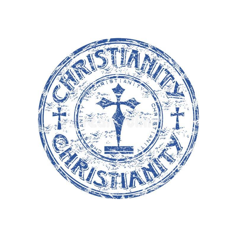Christentum-Stempel stock abbildung