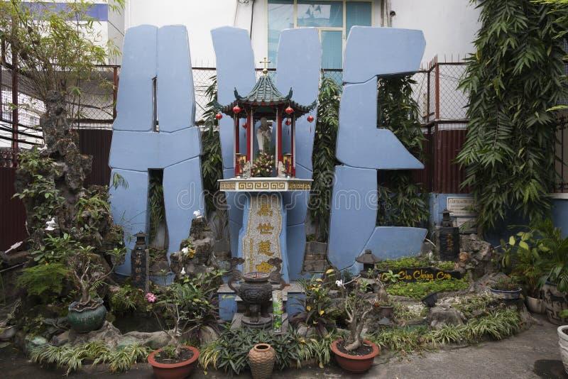 Christentum in Vietnam lizenzfreie stockfotografie