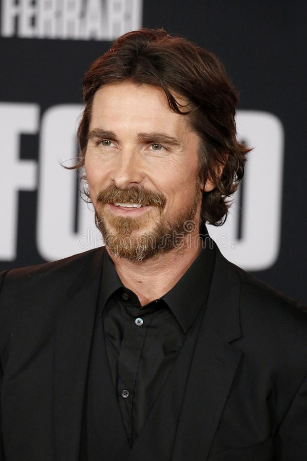 Christian Bale image libre de droits