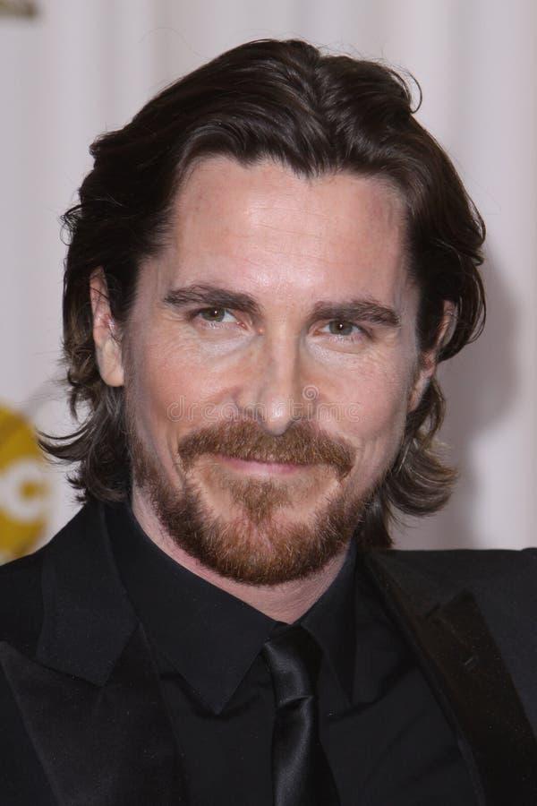 Christian Bale fotografia de stock royalty free