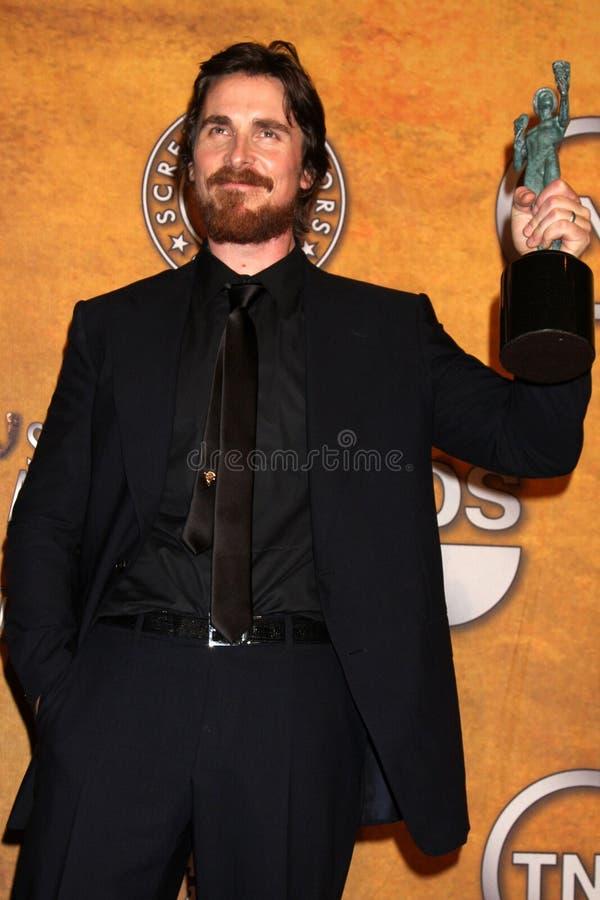 Christian Bale immagine stock libera da diritti