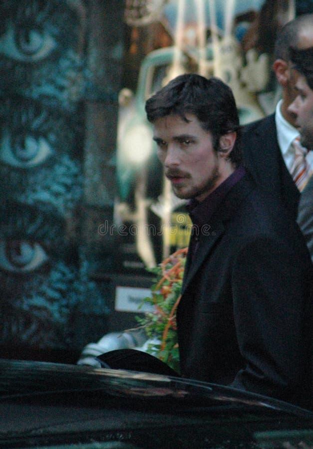 Christian Bale immagini stock libere da diritti