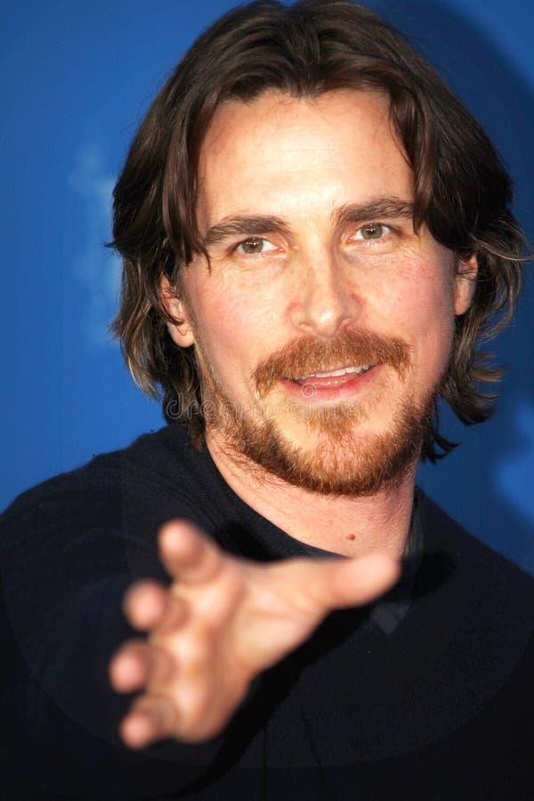 Christian Bale immagine stock