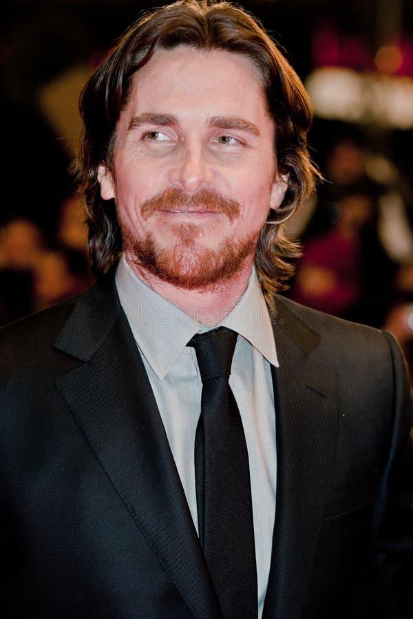 Christian Bale en el Berlinale 2012 fotos de archivo