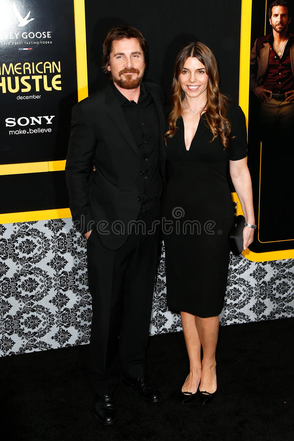 Christian Bale, Sibi Blazic lizenzfreie stockbilder