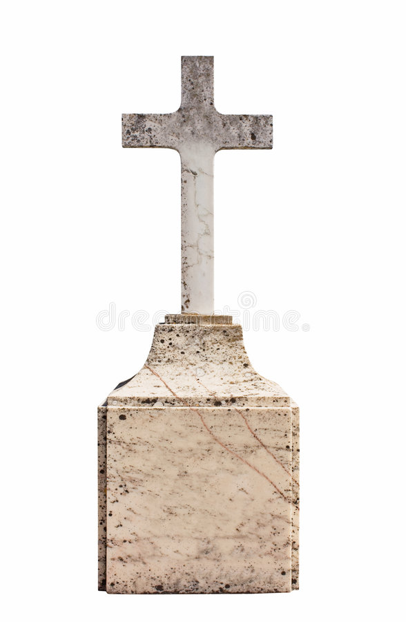 Christian blank gravestone stock photography