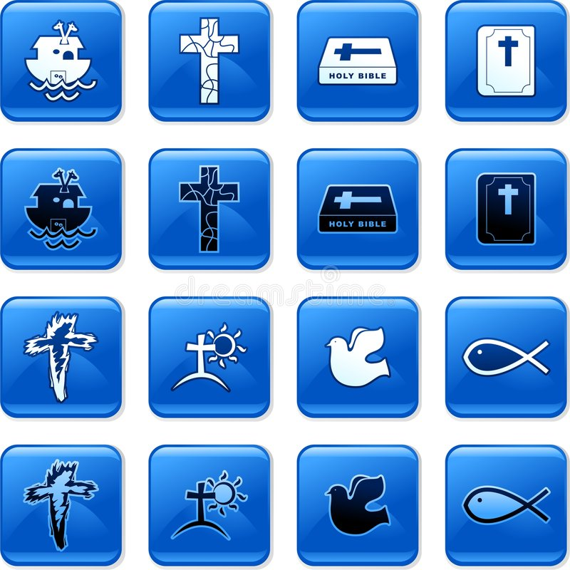 Download Christian buttons stock illustration. Image of internet - 4007321