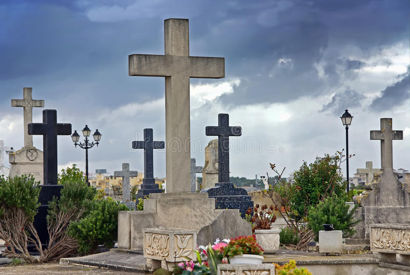 Download Christian Cemetery Royalty Free Stock Photography - Image: 21850217