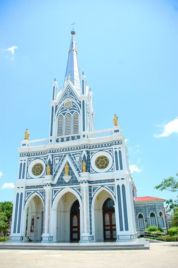 Christian Church em Tailândia imagens de stock