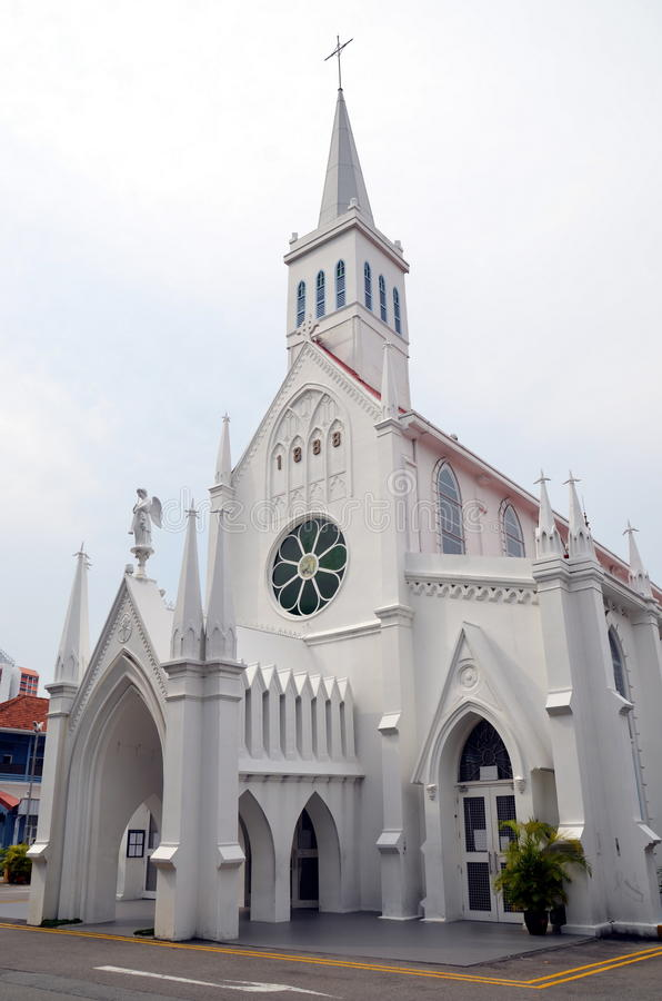 Free Christian Church In Singapore Stock Photography - 41600932