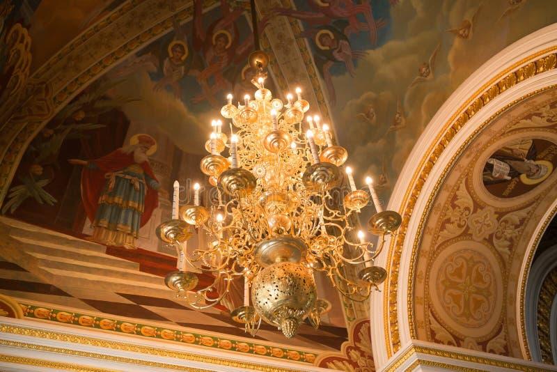 Christian church. Inside the Christian church. Ufa. Russian Federation royalty free stock photos