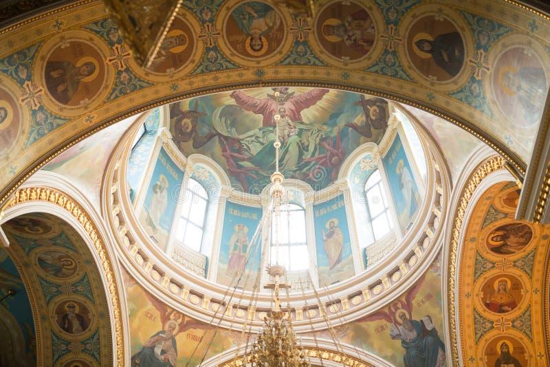 Christian church. Inside the Christian church. Ufa. Russian Federation royalty free stock photo