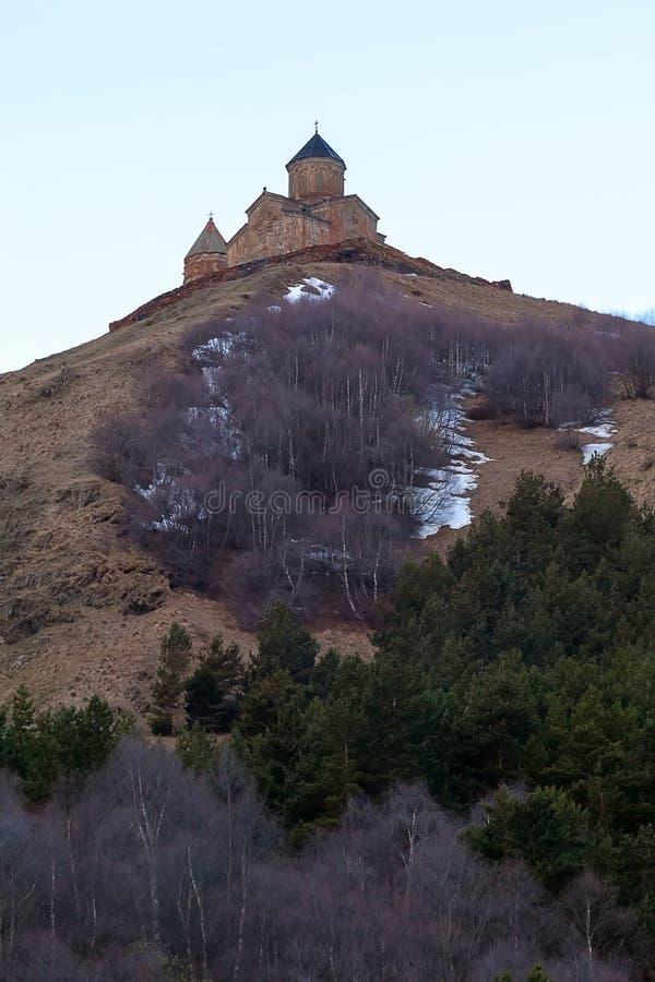 Christian Church sopra una montagna fotografia stock