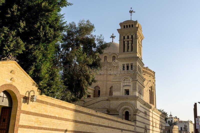 Christian Coptic Church au Caire, Egypte - Moyen-Orient photo stock