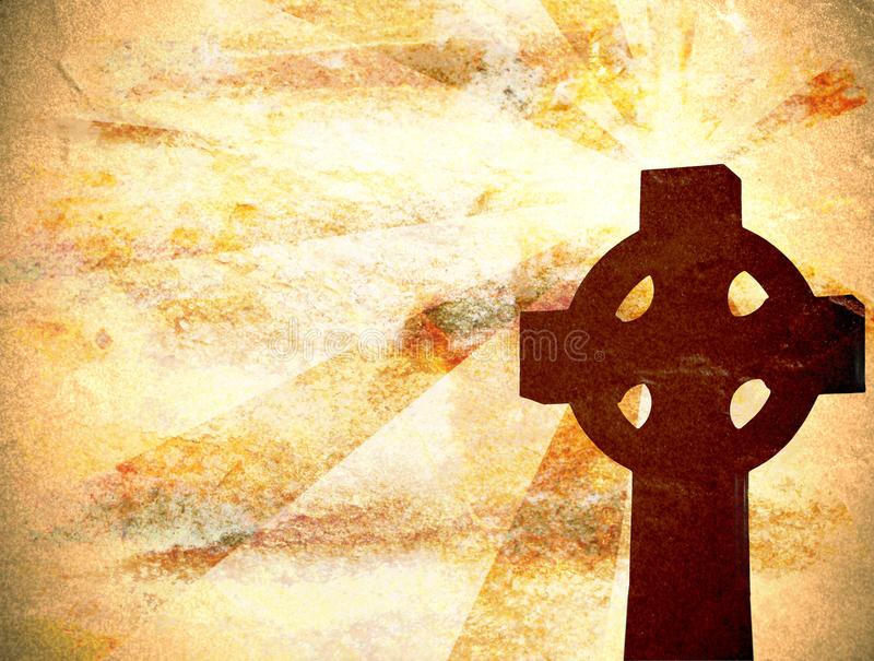 Christian Cross Background royalty free stock photography