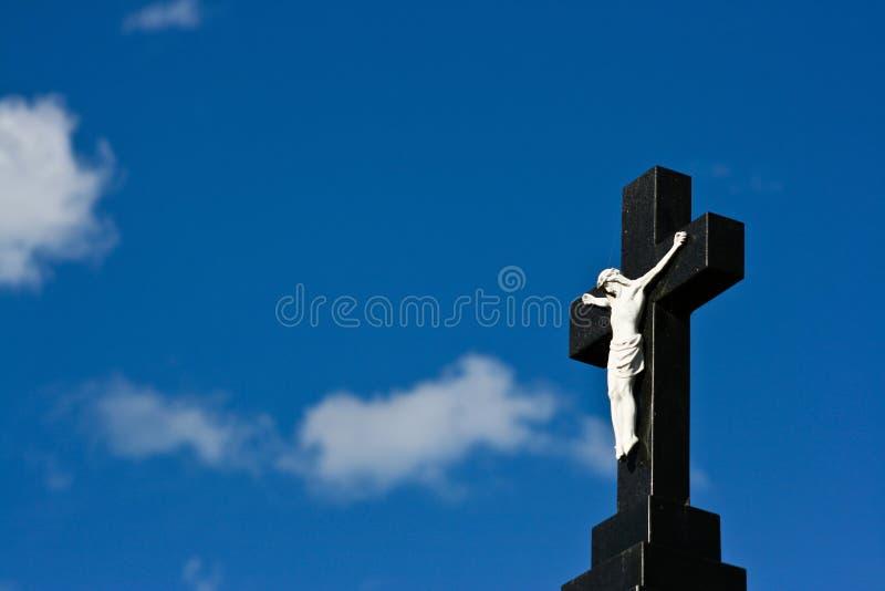 Christian Cross Background stock photography