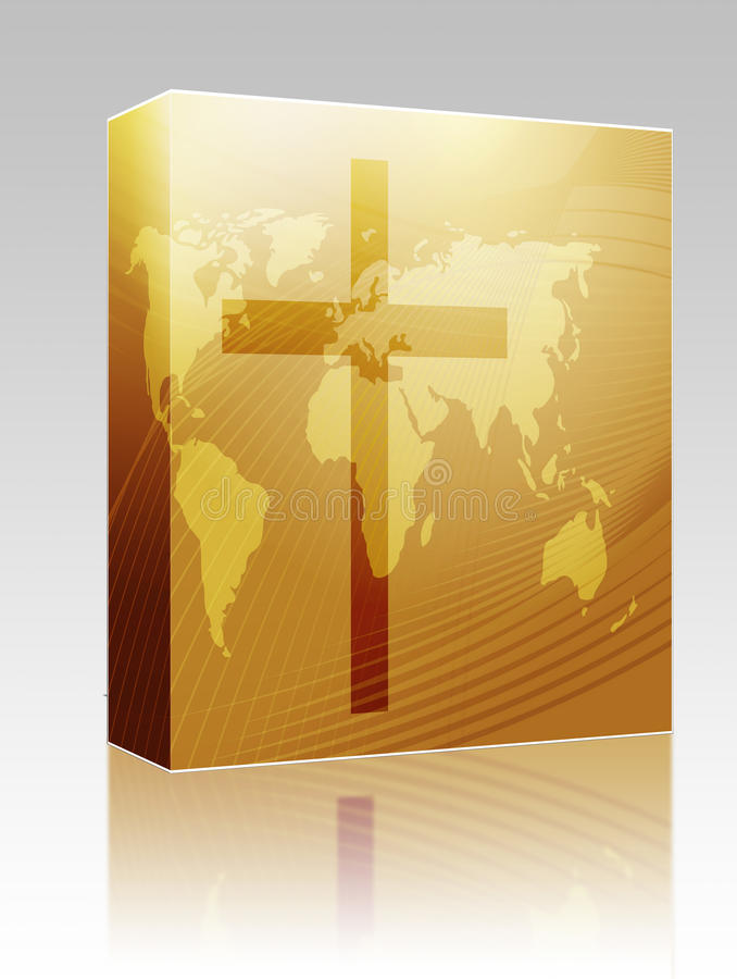 Free Christian Cross Box Package Royalty Free Stock Image - 9548406