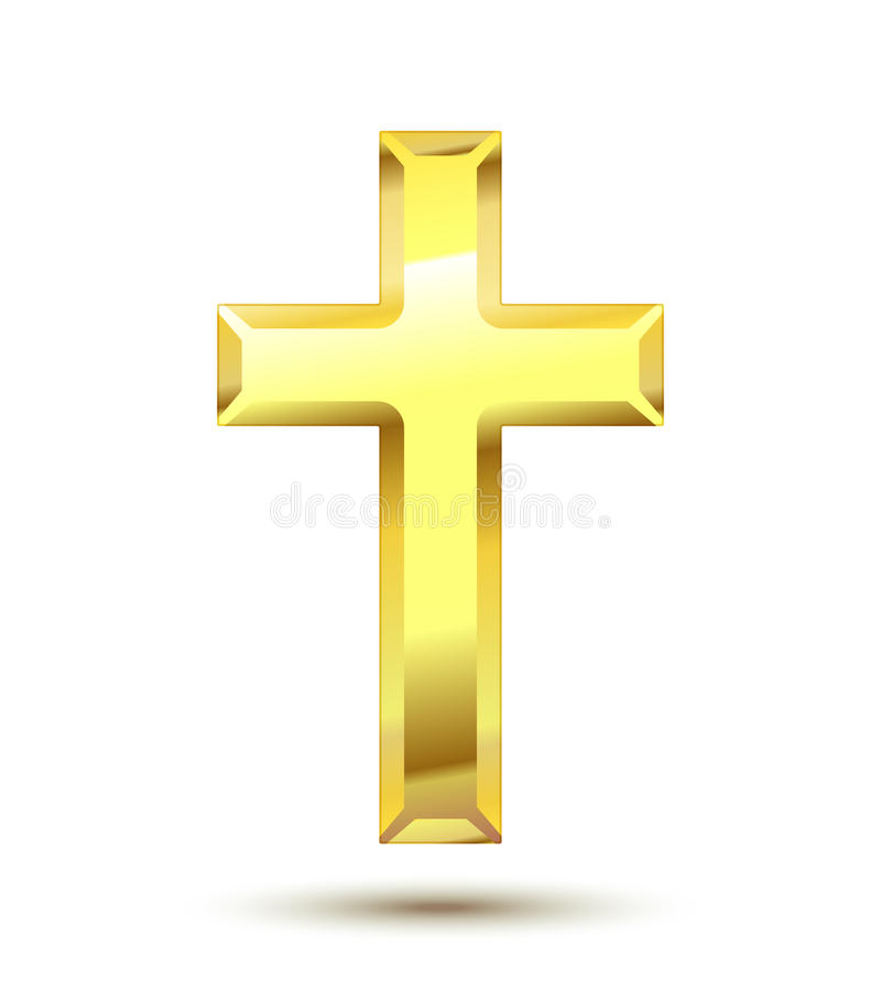 Christian Cross vector illustration