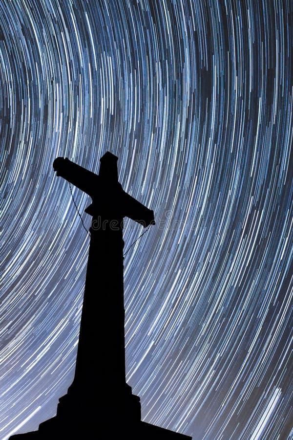 Christian Cross-Stern-Spur stockbild