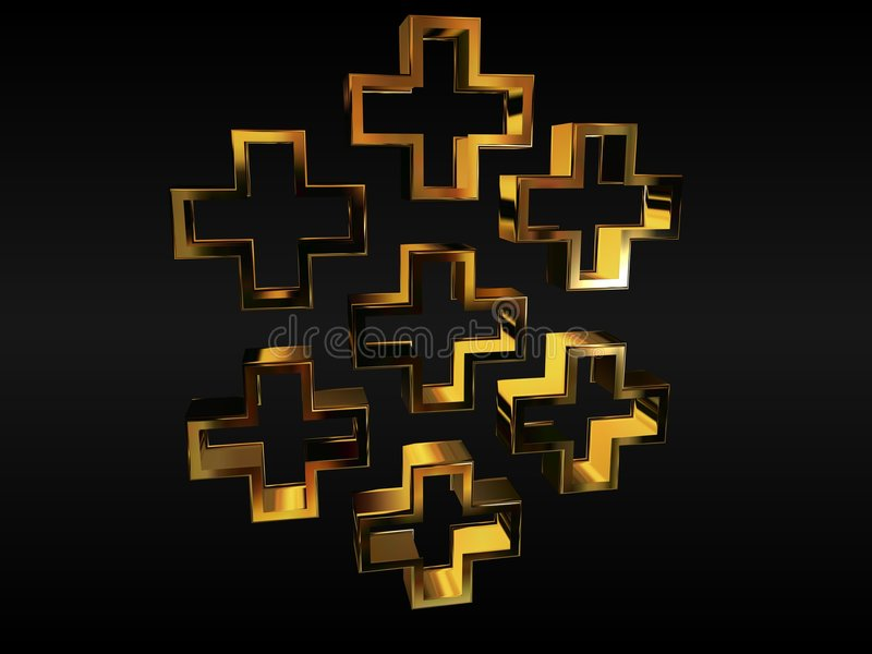 Download Christian Crosses Royalty Free Stock Photography - Image: 4692857