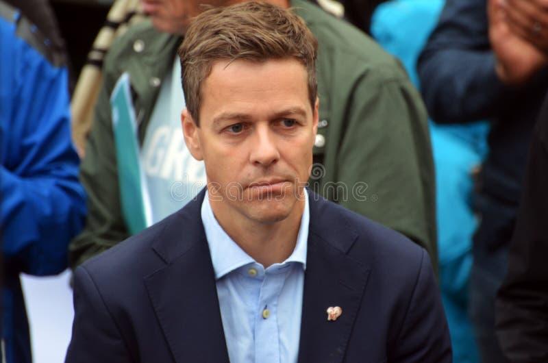 Christian Democratic Party Politician Knut Arild Hareide fotos de stock royalty free