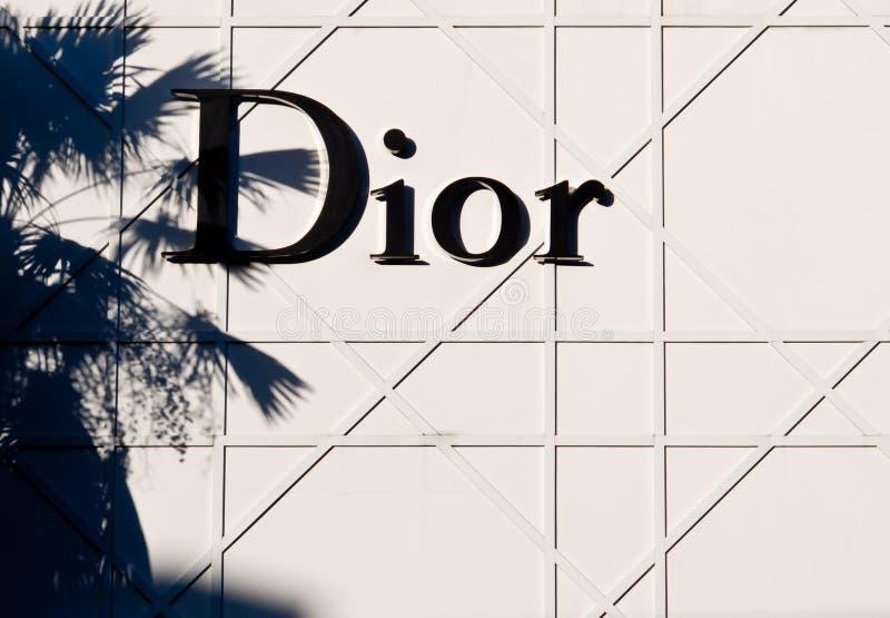 Christian Dior imágenes de archivo libres de regalías