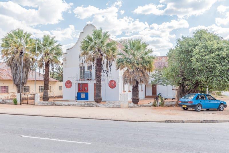 Christian Gathering Church aclarado en Tsumeb imagen de archivo libre de regalías