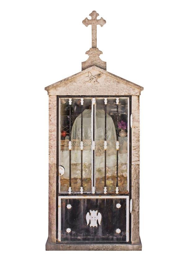 Christian mausoleum royalty free stock photography
