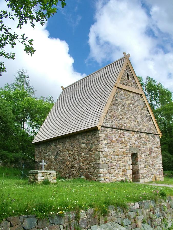 Christian Monastery på det irländska nationella arvet parkerar royaltyfria foton