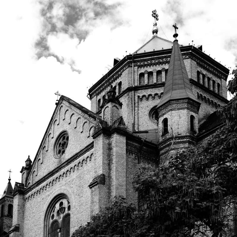 Christian Orthodox Church in Timisoara, Rumänien stockbild