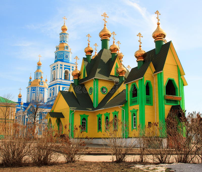 The Christian Orthodox churches royalty free stock photos