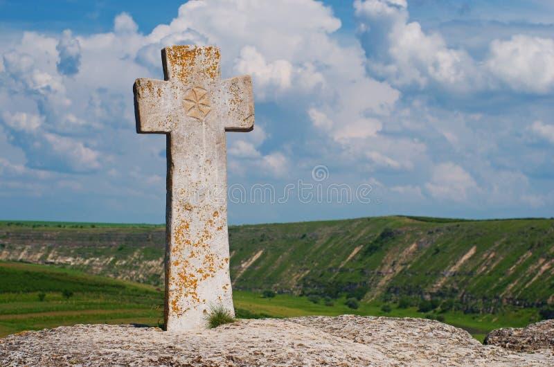 Christian Orthodox-Kirche in altem Orhei, Moldau stockbilder