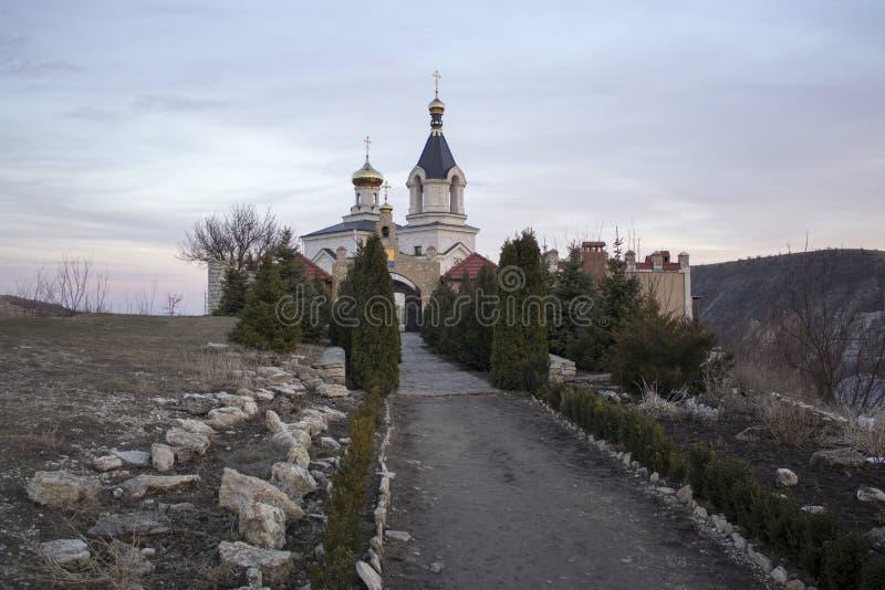 Christian Orthodox-Kirche in altem Orhei Moldau lizenzfreies stockfoto