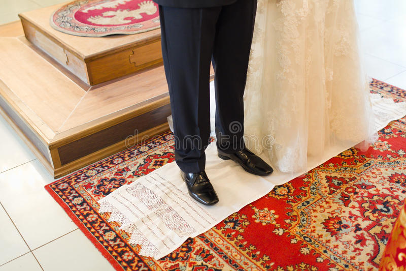 Christian orthodox wedding ceremony