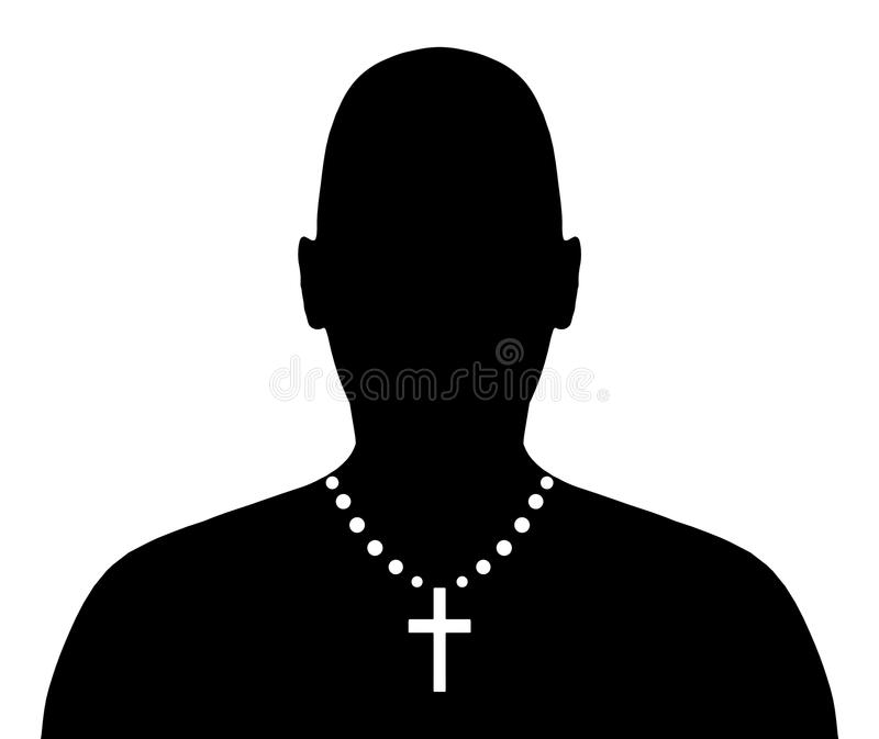 Christian Person royalty free stock image