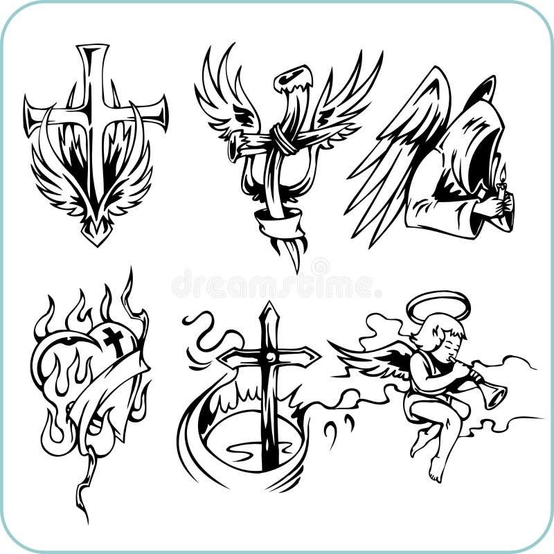 Christian Religion - Vector Illustration. Stock Photo