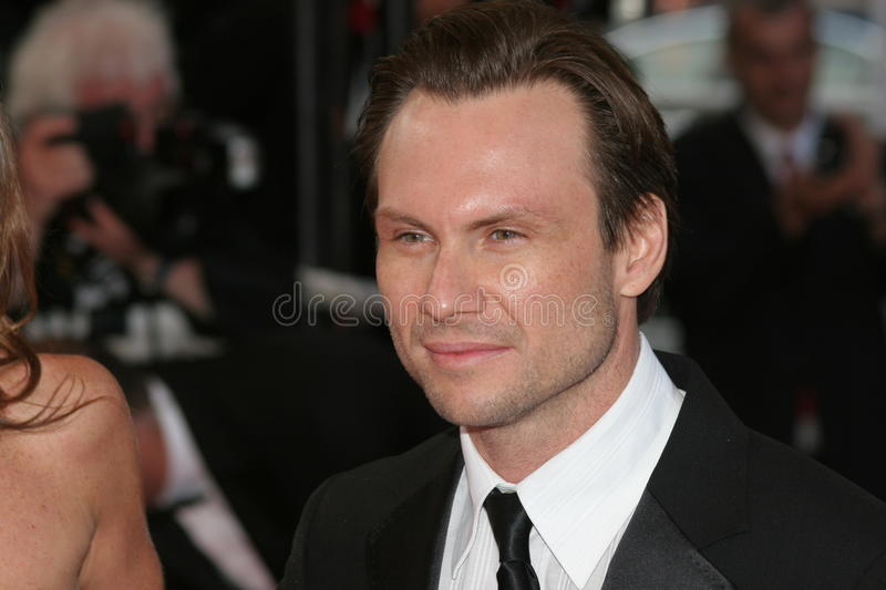 Christian Slater Editorial Image