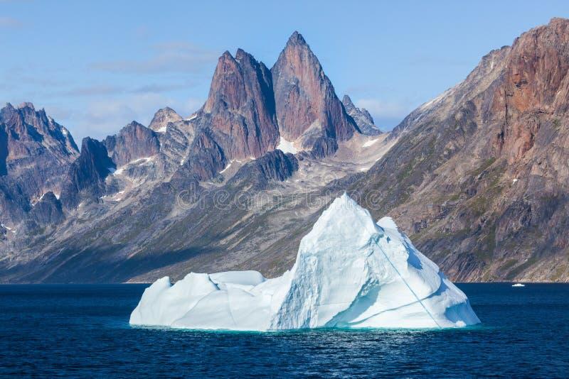 Christian Sound,格陵兰王子 图库摄影