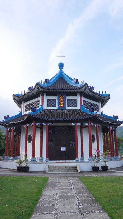 Christian Temple en Hong Kong imagen de archivo