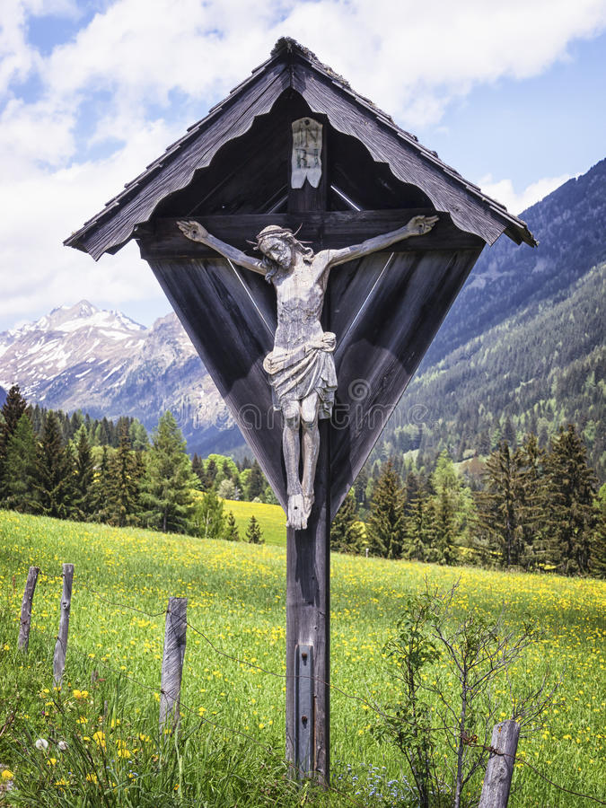 Free Christian Wayside Shrine Royalty Free Stock Photography - 34632437