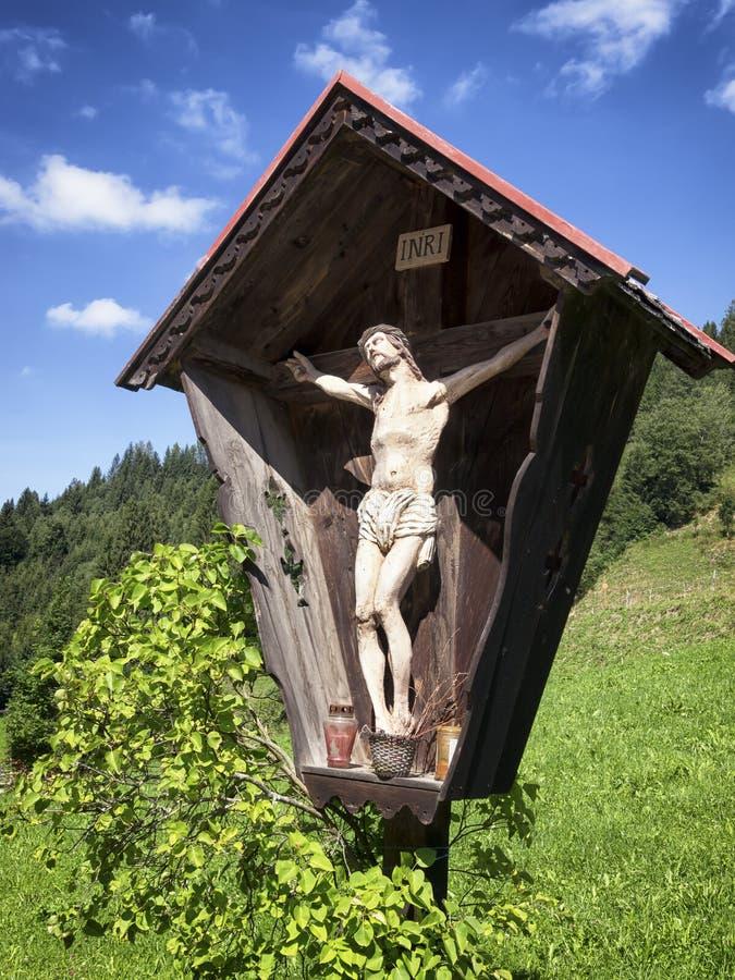 Download Christian Wayside Shrine stock image. Image of jesus - 35913507
