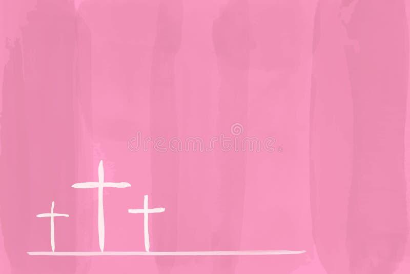 Christian worship and praise vector illustration