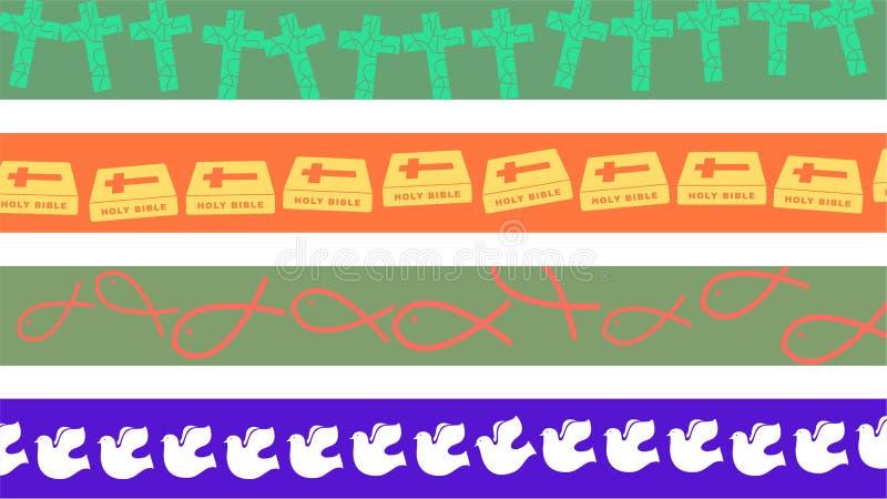 christiana granice royalty ilustracja